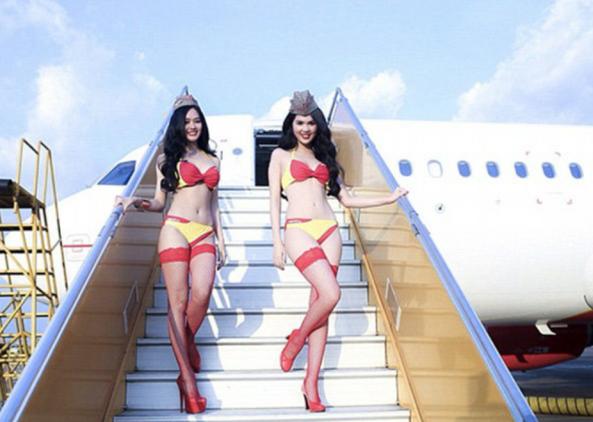 pramugari, cantik, seksi, hot, model, spg, viet Jet, vietnam, maskapai, wisata tiket, promo, murah, low cost, garuda, lion air, air asia, sriwijaya, wisata lintas indonesia, backpacker, liburan,